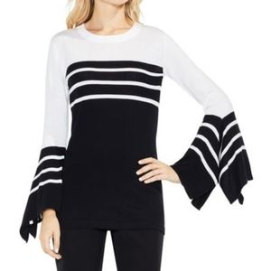 NWOT Vince Camuto Bell Sleeve Modal Sweater